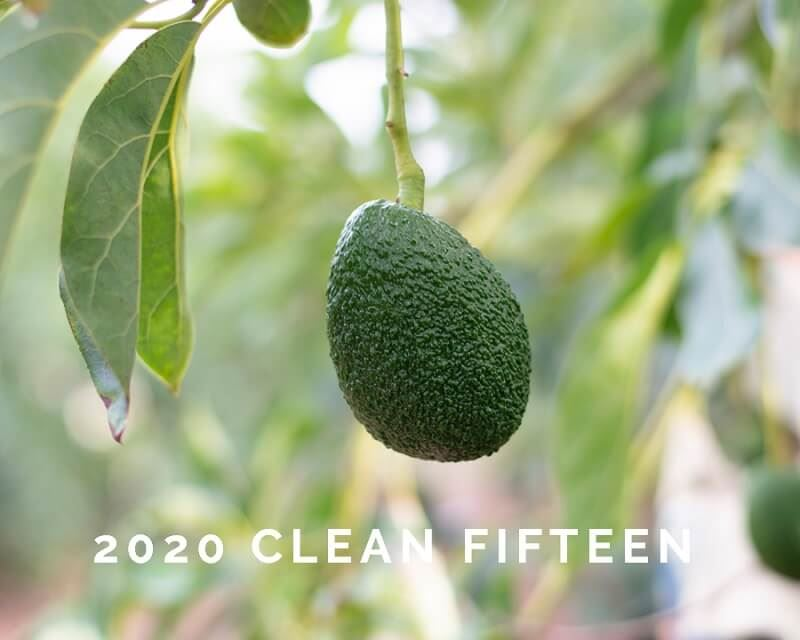 EWG's 2020 Clean 15 for Pesticides