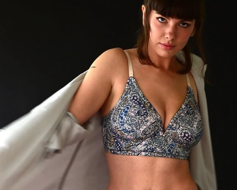 The Very Good Bra is Crowdfunding Paisley
