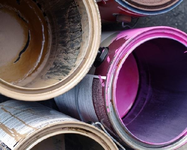 How to Recycle Paint Tins - Empty