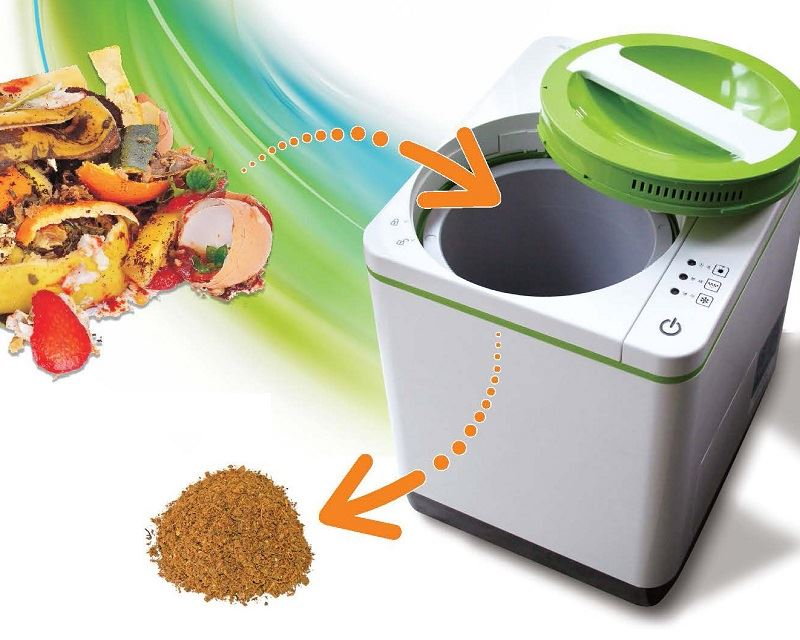Smart Cara Food Waste Processor: Review